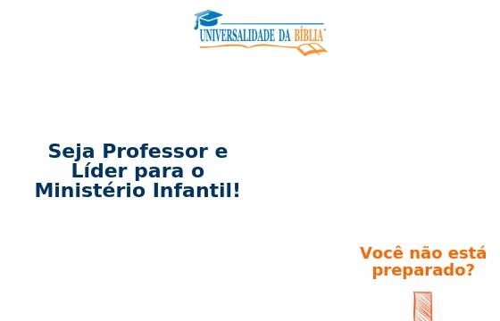 Formacao De Professores E Lideres Para O Ministerio Infantil